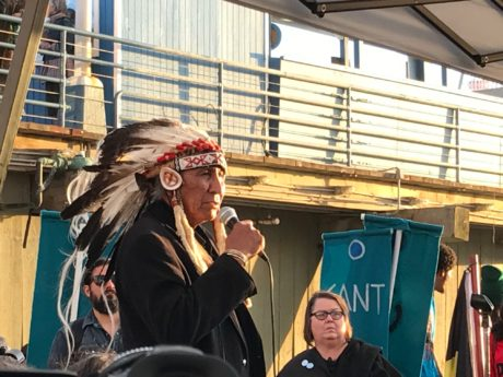 Chief Looking Horse on Standing Rock